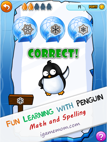 Penguin Kindergarten and PreK App