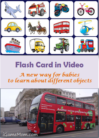 Video Touch Apps - Flash Card in Video