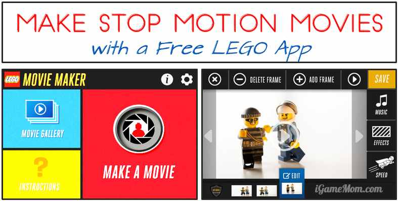 FREE App: LEGO Movie Maker