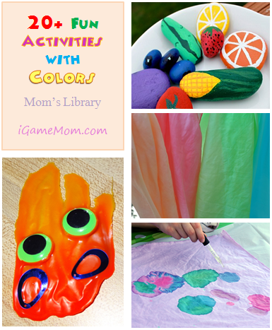 20 fun activities with colors