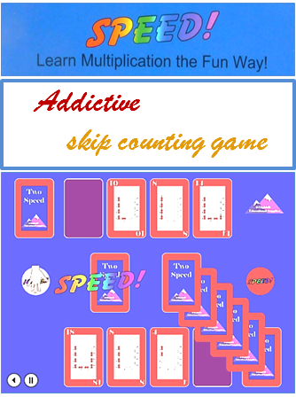 Addictive Skip Counting Game