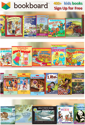 Bookboard offers books for kids