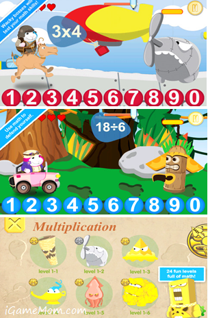 Bugsy Math Quest App