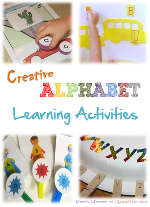 Creative Alphabet Learning Activities