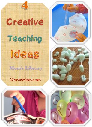 Four Creative Teaching Ideas