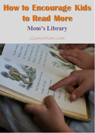 How to encourage kids to read more