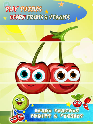 Minti Kids Fruits and Veggies