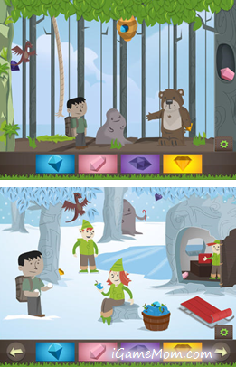 A new twist of iSpy Game on iPAD with cute animations - iGameMom.com