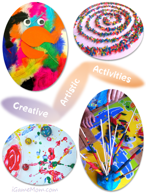 Creative Artistic Activities for Kids