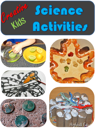 Creative Kids Science Activities