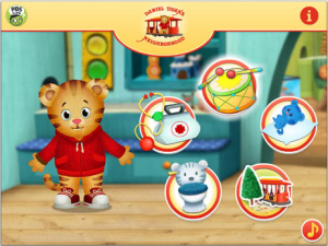 Daniel Tiger's Neighborhood Play at Home with Daniel