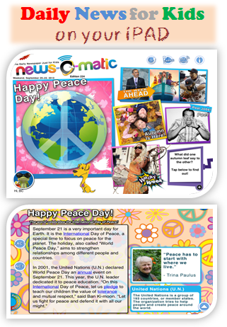 Free App Delivers Daily News for Kids