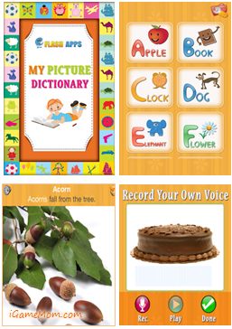 Free App Kids Picture Dictionary