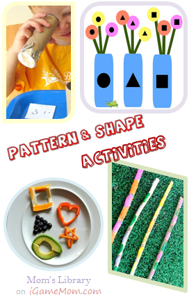 Pattern and Shape Activities
