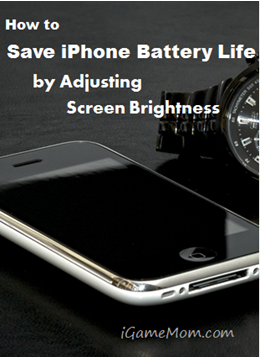Save iPhone Battery Life - Adjust Brightness