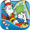 There is a Map on My Lap - DrSeuss Cat in the Hat