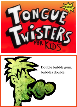 Tongue Twister for Kids - Free eBook