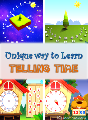 Unique way to learn telling time