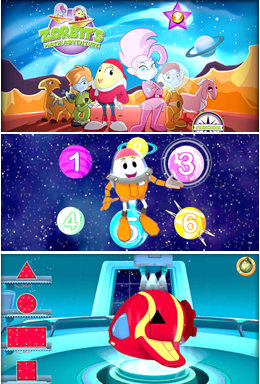 Zorbit math adventure preschool app