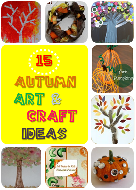 15 autumn art and craft ideas
