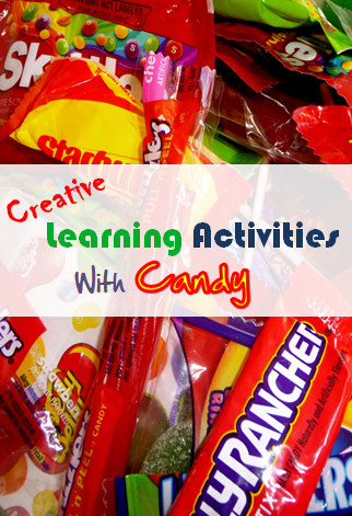 Creative learning activities with candy