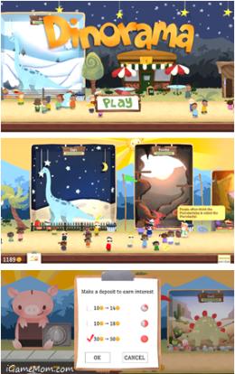 Dinorama Simulation Game - Teaching Kids Money Skills