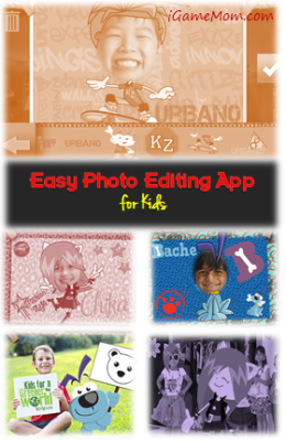 Easy Photo Editing App for Kids