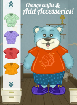 Fun Dress Up Game with a Teddy Bear