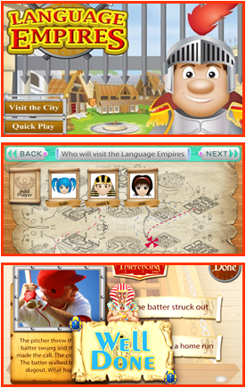 Language Empires - comprehensive English language learning app