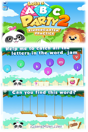 Lola's ABC Party 2 - Kindergarten learning app
