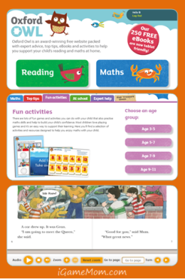 Oxford Owl - Free eBooks and Math Games