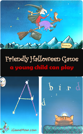 Room on the Broom Games - friendly Halloween Game for young children