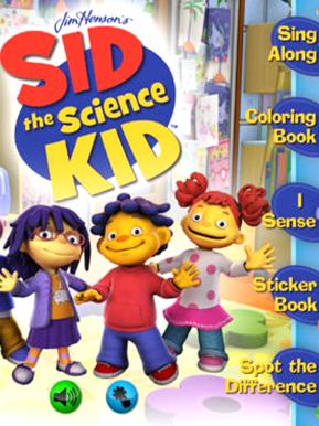 Sid the Science Kids App