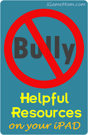 Stop bullying resource on iPAD