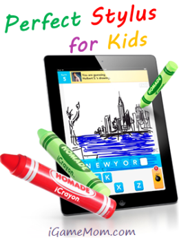 iCrayon - perfect stylus for kids