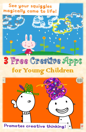 3 free creative apps for young children