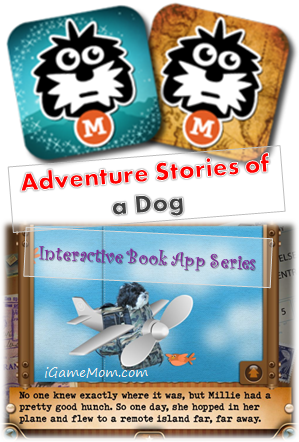 Adventure Stories of a Dog - Interactive Book App Series for Kids