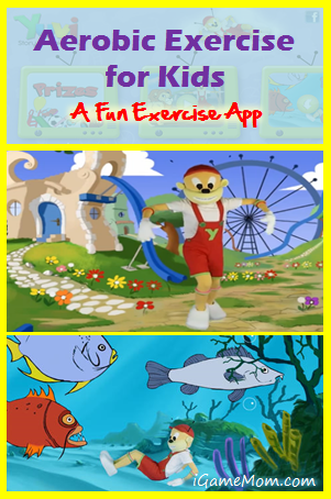 Aerobic Exercise for Kids - a fun kids excercise app