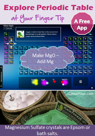 Free app interactive periodic table at your finger tip urtaz Image collections