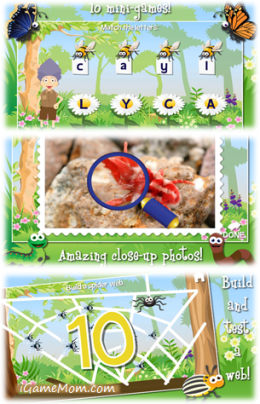 Fun Bug App for Kids - Grandma Loves Bugs