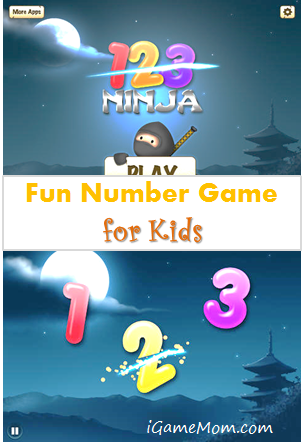 Fun Number Game for Kids - 123 Ninja