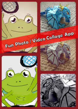 Fun Photo Video Collage App - with learning activity ideas