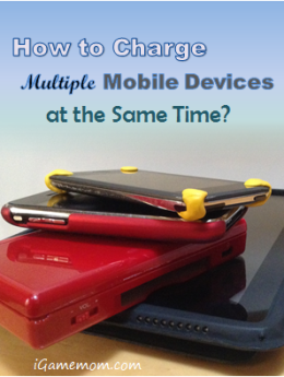 How to charge multiple mobile devices simultaneously