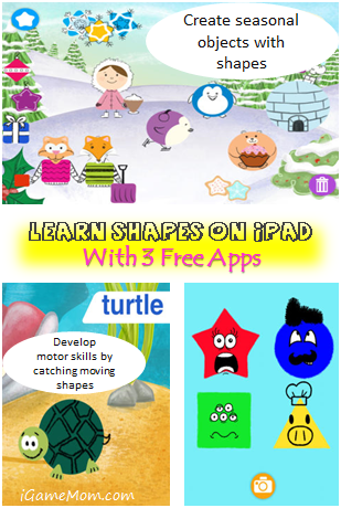 Learn Shapes on iPAD with 3 Free Apps