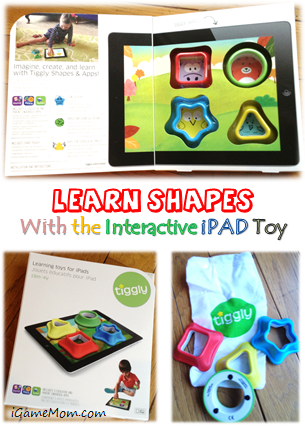 Learn Shapes with interactive iPAD toy