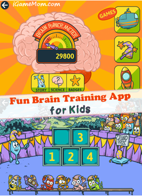 fun brain training app for kids