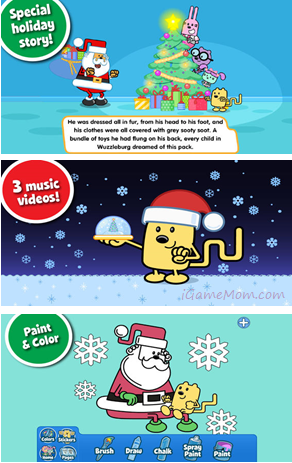 Beautiful Christmas Storybook - Wubbzy's The Night Before Christmas