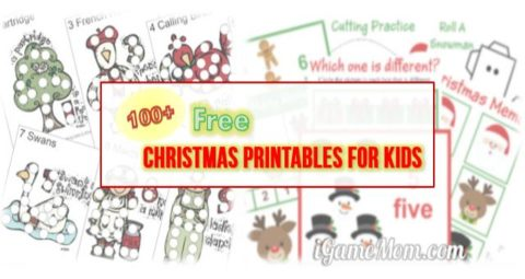 Christmas free printable for kids