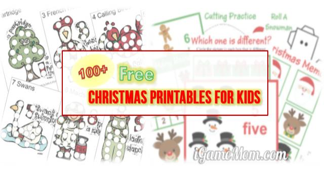 400 Free Christmas Themed Learning Printables for Kids – Free Christmas Printable Worksheets