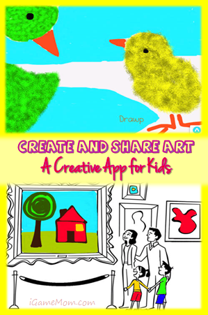 Create and Share Art - Creative App for Kids